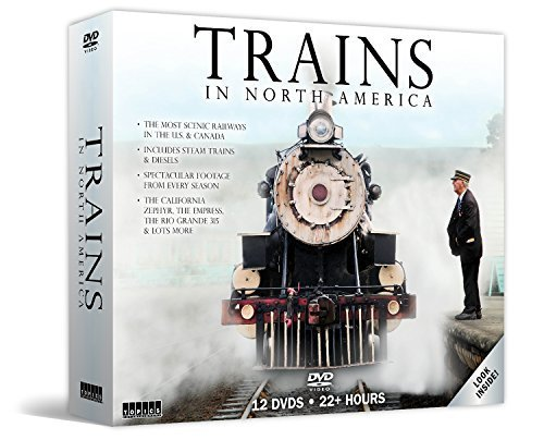 Trains In North America Trains In North America 12 DVD