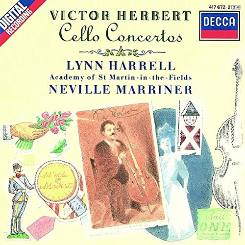 Victor Herbert Neville Marriner Academy Of St. Mar Herbert Cello Concertos 5 Pieces For Cello And