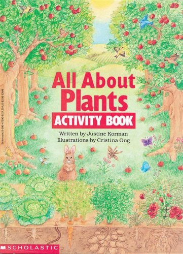 Justine Korman All About Plants Activity Book