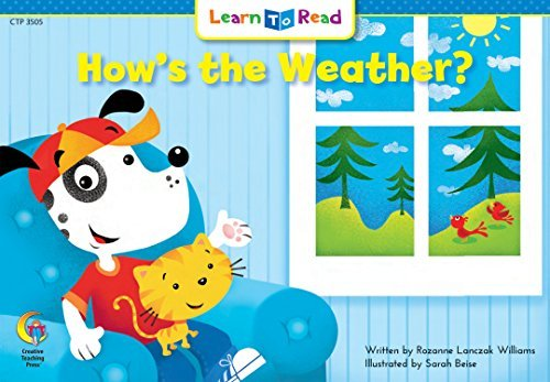 Rozanne Lanczak Williams How's The Weather? Learn To Read Read To Learn