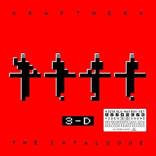 Kraftwerk 3 D The Catalogue Deluxe Import Gbr 4 Blu Ray Book