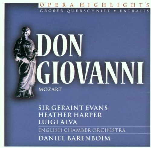 W.A. Mozart Opera Highlights Don Giovanni