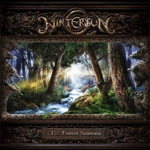 Wintersun Forest Seasons (white W Cyan Splatter Indie Exclusive)