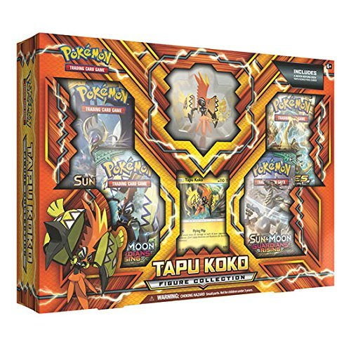 Pokemon Cards Tapu Koko Figure Collection