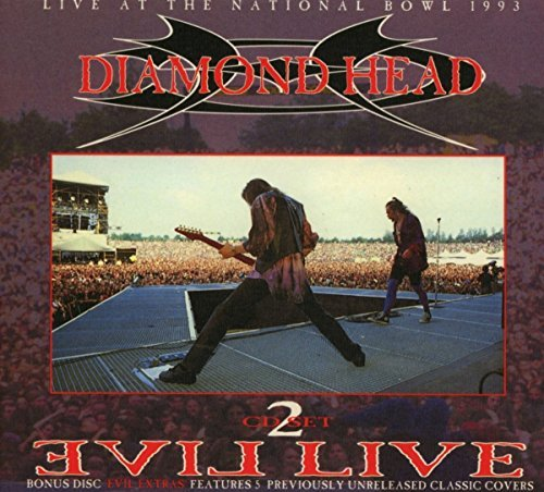 Diamond Head Evil Live Import Gbr 2cd
