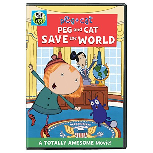 Peg & Cat Peg And Cat Save The World DVD
