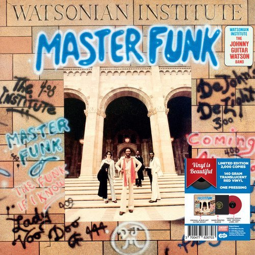 The Watsonian Institute Master Funk Red Vinyl 2017 L