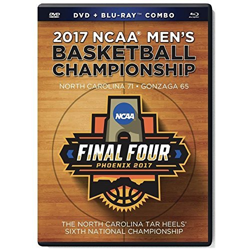2017 Ncaa Men's Basketball Champioship North Carolina Tar Heels DVD