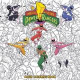 Might Morphin Power Rangers Adult Coloring Book