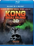 Kong Skull Island Hiddleston Jackson Larson Goodman 3d Blu Ray Dc Pg13