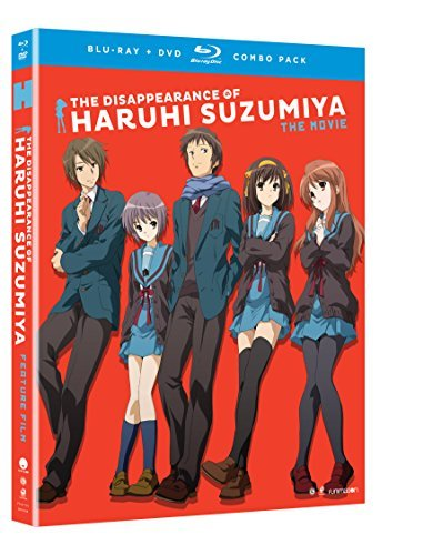 Disappearance Of Haruhi Suzumiya The Movie Disappearance Of Haruhi Suzumiya The Movie Blu Ray DVD Nr