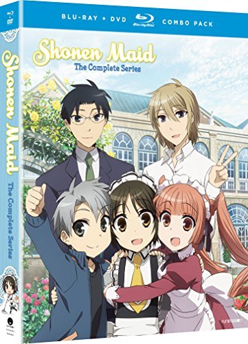 Shonen Maid The Complete Series Blu Ray DVD Nr