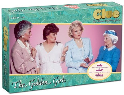 Board Game Clue Golden Girls