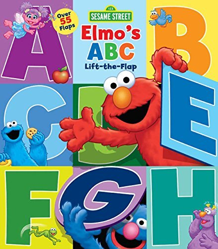 Sesame Street Sesame Street Elmo's Abc Lift The Flap Reprint