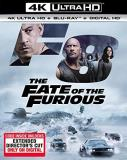 Fast & The Furious Fate Of The Furious 4k Pg13