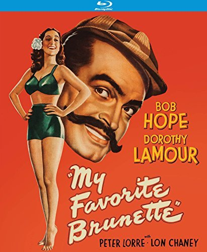My Favorite Brunette Hope Lamour Blu Ray Nr