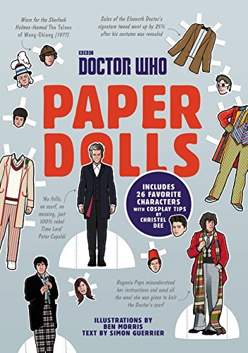 Simon Guerrier Doctor Who Paper Dolls