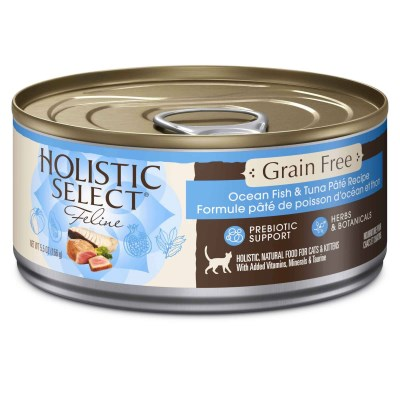 Holistic Cat Grain Free Fish & Tuna 5.5oz