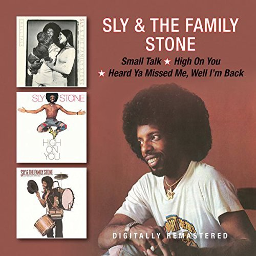 Sly & The Family Stone Small Talk High On You Heard Import Gbr 2cd