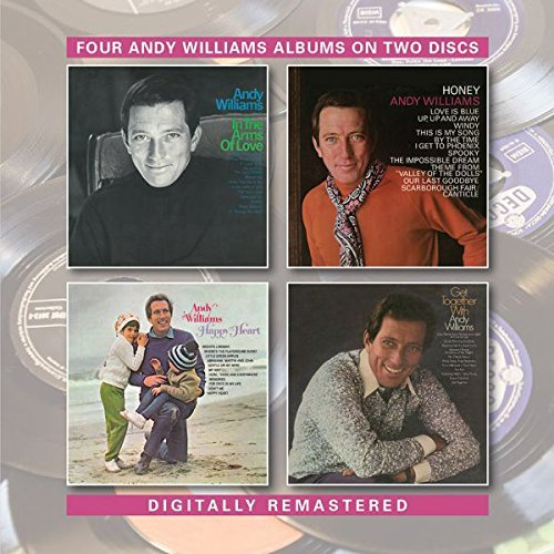 Andy Williams In The Arms Of Love Honey Get Import Gbr 2cd
