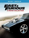 Fast & Furious 8 Movie Collection Blu Ray