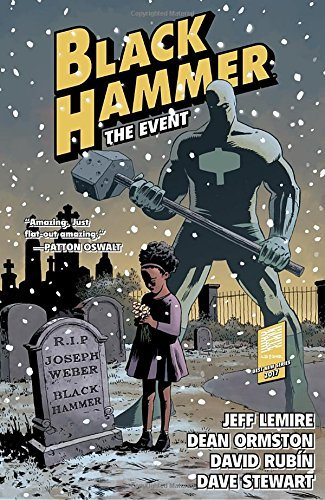 Jeff Lemire Black Hammer Volume 2 The Event