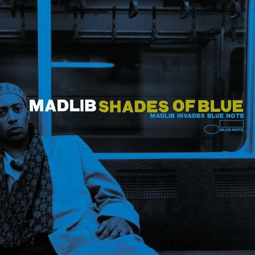 Madlib Shades Of Blue (blue & White Vinyl) 180 Gram Audiophile Vinyl Numbered To 1000