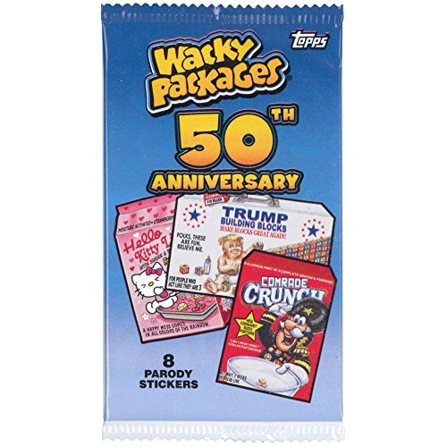 Trading Cards Wacky Packages 50th Anniversary Sticker Cards
