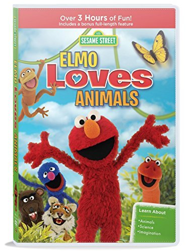 Sesame Street Elmo Loves Animals DVD