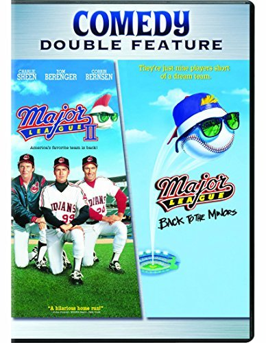 Major League 2 Major League 3 Back To The Minors Double Feature DVD