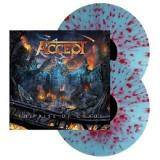 Accept The Rise Of Chaos (indie Exclusive Electric Blue Red Splatter Vinyl)