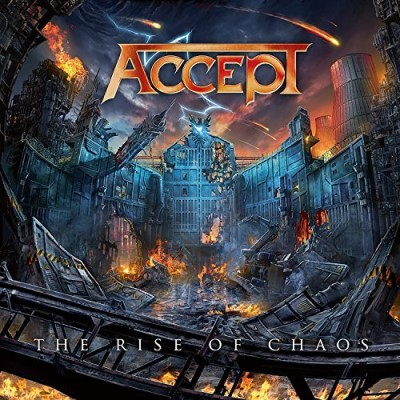 Accept The Rise Of Chaos (blue Orange Swirl Vinyl)