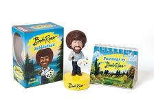 Bob Ross Bob Ross Bobblehead With Sound! [with Book]