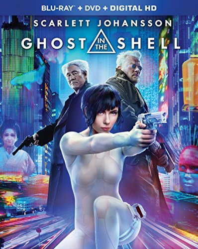 Ghost In The Shell (2017) Johansson Asbaek Kitano Blu Ray DVD Dc Pg13
