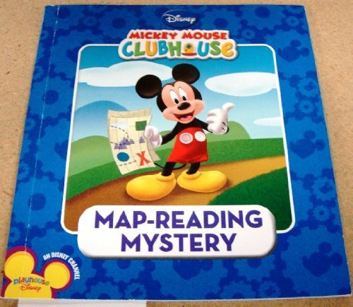 Disney Mickey Mouse Clubhouse Map Reading Mystery