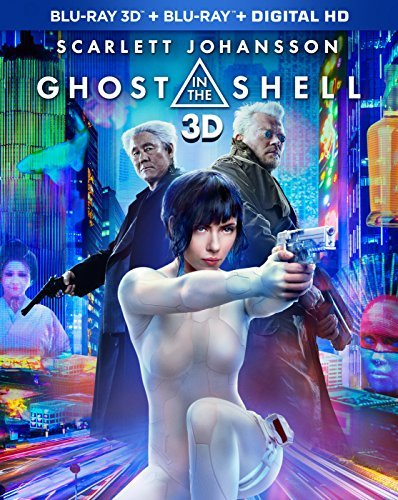 Ghost In The Shell (2017) Johansson Asbaek Kitano 3d Amazon Exclusive