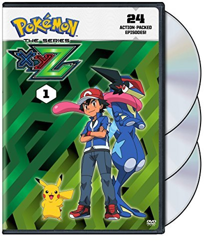 Pokemon The Series Xyz Set 1 DVD
