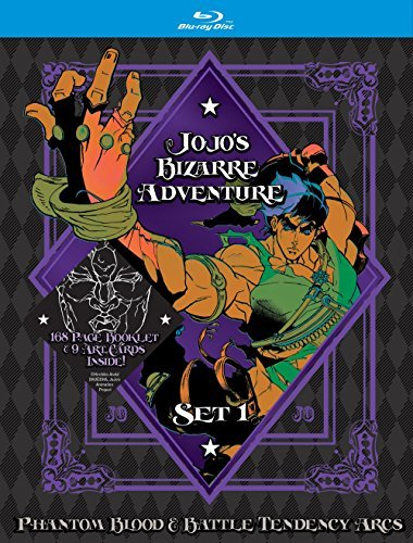 Jojo's Bizarre Adventure Set 1 Blu Ray