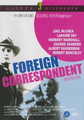 Foreign Correspondent Mccrea Day Marshall Sanders Be