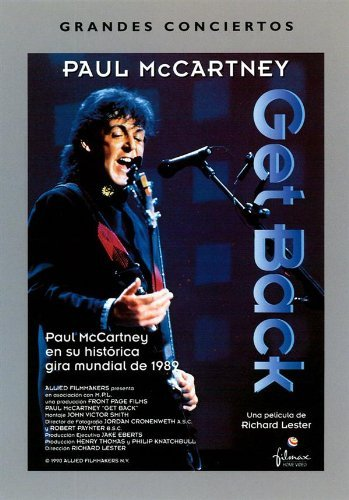 Paul Mccartney Get Back