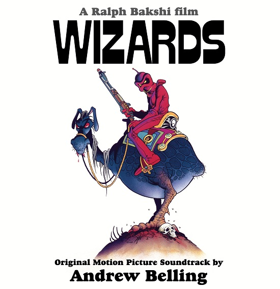 Wizards Soundtrack Andrew Belling Lp