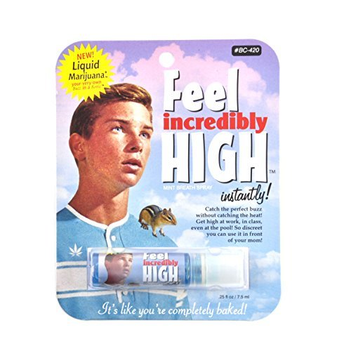 Breath Spray Feel Incredibly High