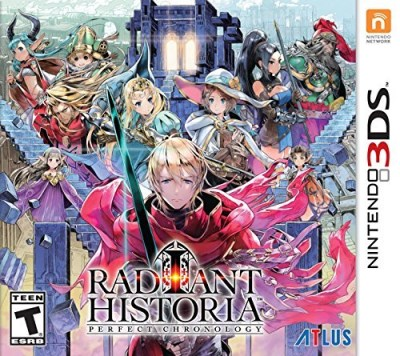 Nintendo 3ds Radiant Historia Perfect Chronology
