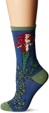 Socks Womens Crew Mermaid Sea