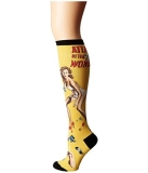 Socks Kneehigh Attack Of The 50 Ft Woman Yellow