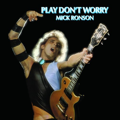 Mick Ronson Play Don't Worry (blue & White Vinyl) Lp