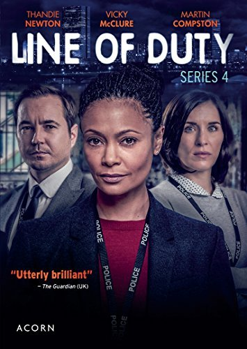 Line Of Duty Series 4 DVD