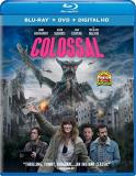 Colossal Hathaway Sudeikis Blu Ray DVD Dc R