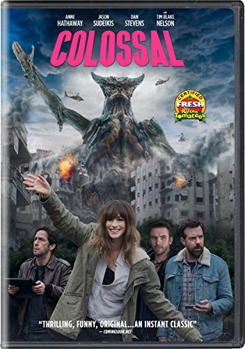 Colossal Hathaway Sudeikis DVD R