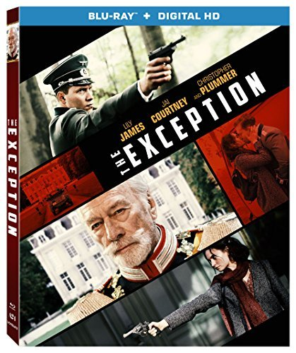 The Exception James Courtney Plummer Blu Ray Dc R